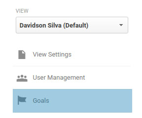 Configurando o evento no Google Analytics