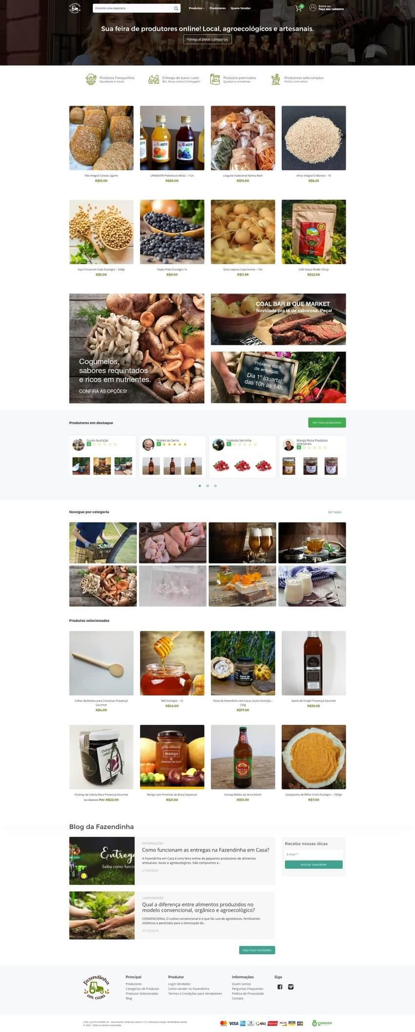 Fazendinha em Casa Desktop site